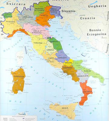 Impariamo insieme: Cartine geografiche dellItalia