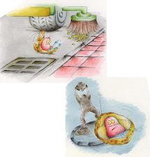 Las ilustraciones para el periódico LEVANTE DE CASTELLÓN: Un cacau galàctic