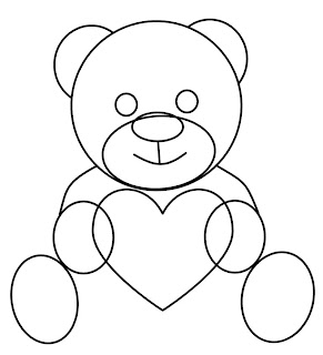 I Hope You Enjoy These Step By Step Instructions On How To Draw A Valentines  Day Teddy Bear.