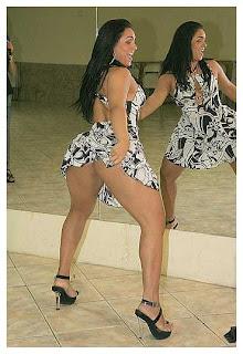 Mulher Melancia em fotos sensuais