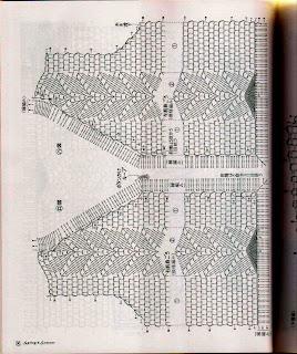 Ажурные кофточки связанные крючком и схемы к ним