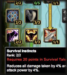 survival mitigation