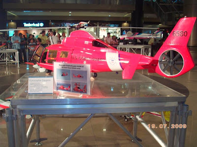 Airplane Models in SM City Cebu