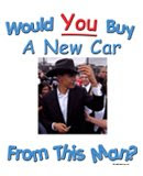 Would you buy a car from this salesman?