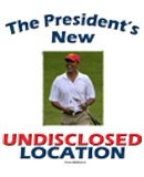 As turmoil has broken out around the world, President Obama has been escorted to his new undisclose