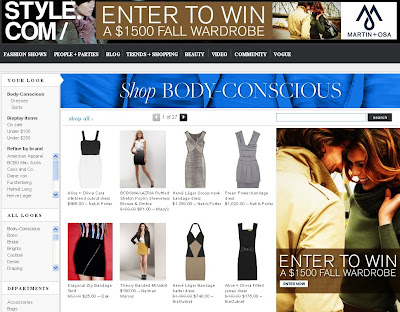 style.com shopping
