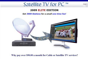 Satellite TV For PC 2009 Elite Edition