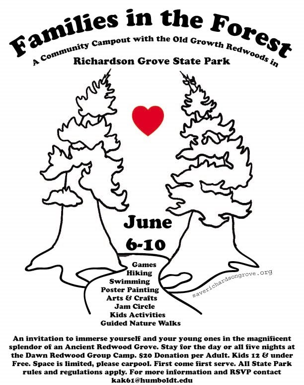 Defend richardson grove save humboldt county june 2010 for Humboldt swimming pool schedule
