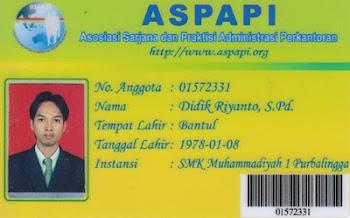 Anggota ASPAPI