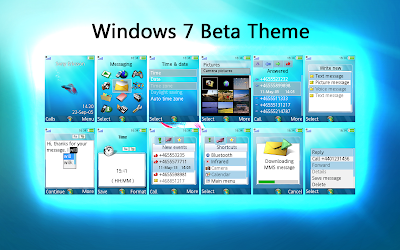 Free Windows 7 Theme for Sony Ericsson
