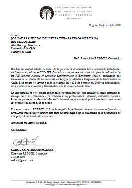 Convenio REDNEL Colombia|USACH Chile XII JALLA-E del 4 al 8 de octubre de 2010