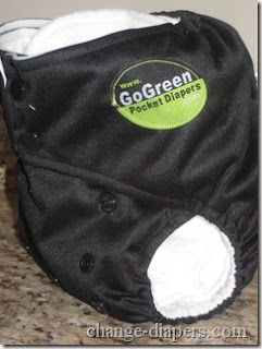 gogreen pocket diaper giveaway