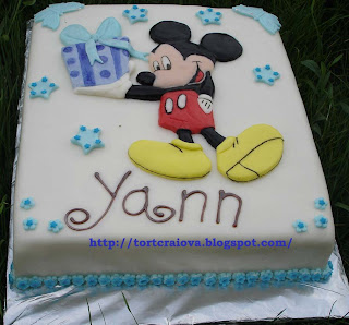 Tort Mickey Mouse II (Mickey Mouse Cake take two)
