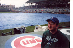 At Wrigley Field in 2000