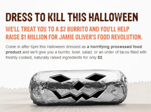 Chipotle and Qdoba Halloween Deals - Queen of Free