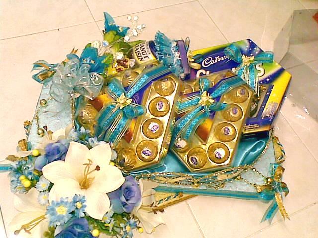 Gubahan+coklat+cadbury