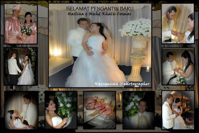 Wedding Ceremony Haslina & Muhd Khalish Cosmas