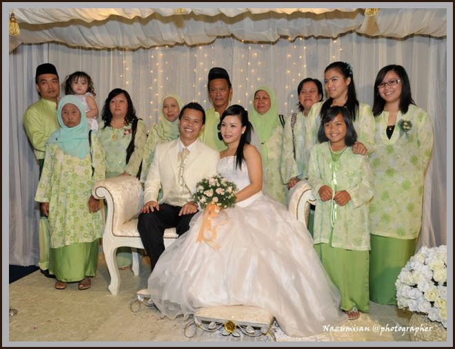 keluarga pengantin