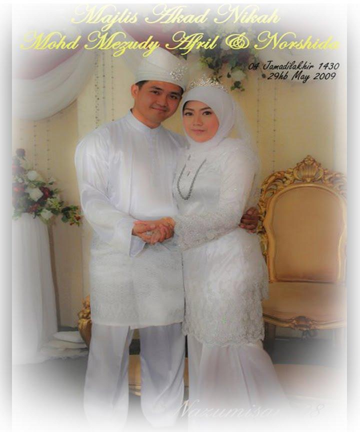 Majlis Akad Nikah Mohd Mezudy Afril