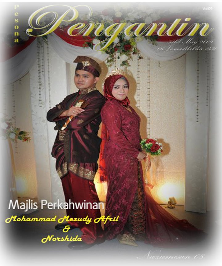 Wedding P/ASP Mohd Mezudy Afril & Norshida 31/05/2009