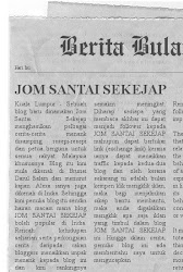 JOM SANTAI DI AKHBAR