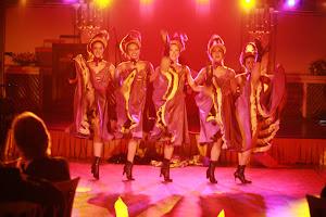 Folies Bergere dancers