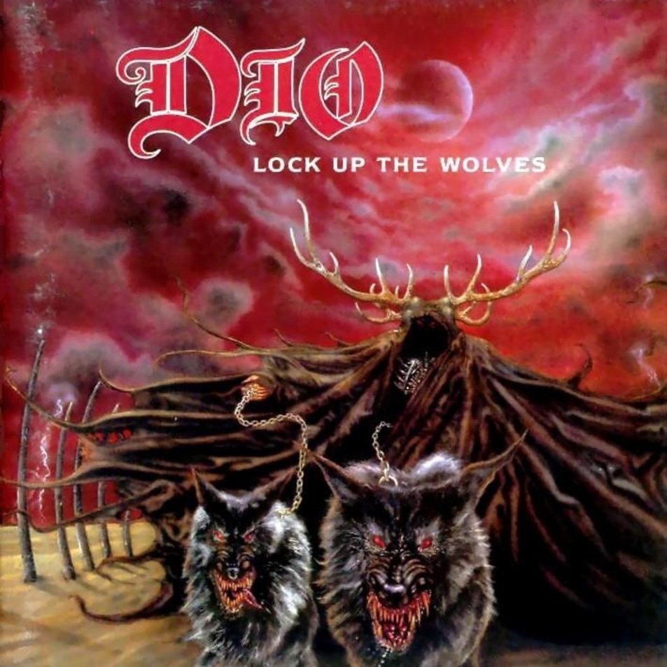 Combe Do Iommi 174 Dio Lock Up The Wolves 1990