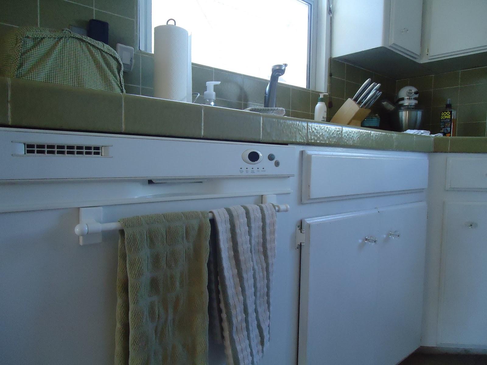 Where to put that towel bar... | Organizing Made Fun: Where to put ...