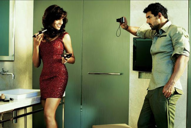 John and Bipasha in Vanity Room
