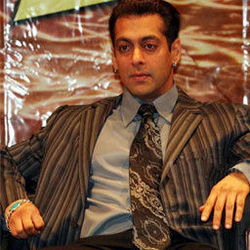 Salman Khan on hot sit
