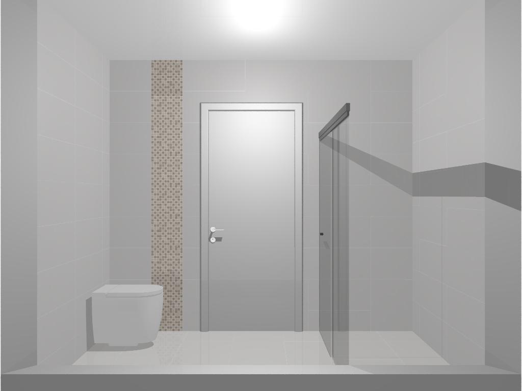 ARQUITETURA E DESIGN VERIDIANA NEVES Jundiaí e região: Projeto de  #6A6561 1024x768 Banheiro Com Pastilha Vertical