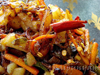 Carrot Potato Fry