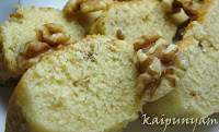 Sponge Cake with Walnuts