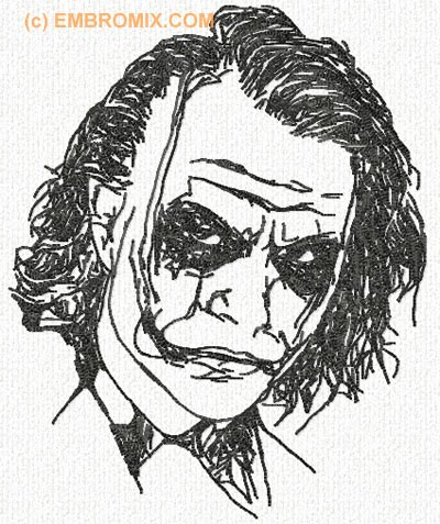 Best machine embroidery designs joker embroidery design for Home by johker design