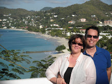 Overlooking Grand Anse Beach