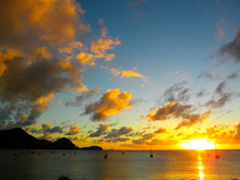 Our Last Sunset in St. Lucia