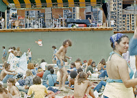 1973 Watkins Glen - crowd at stage