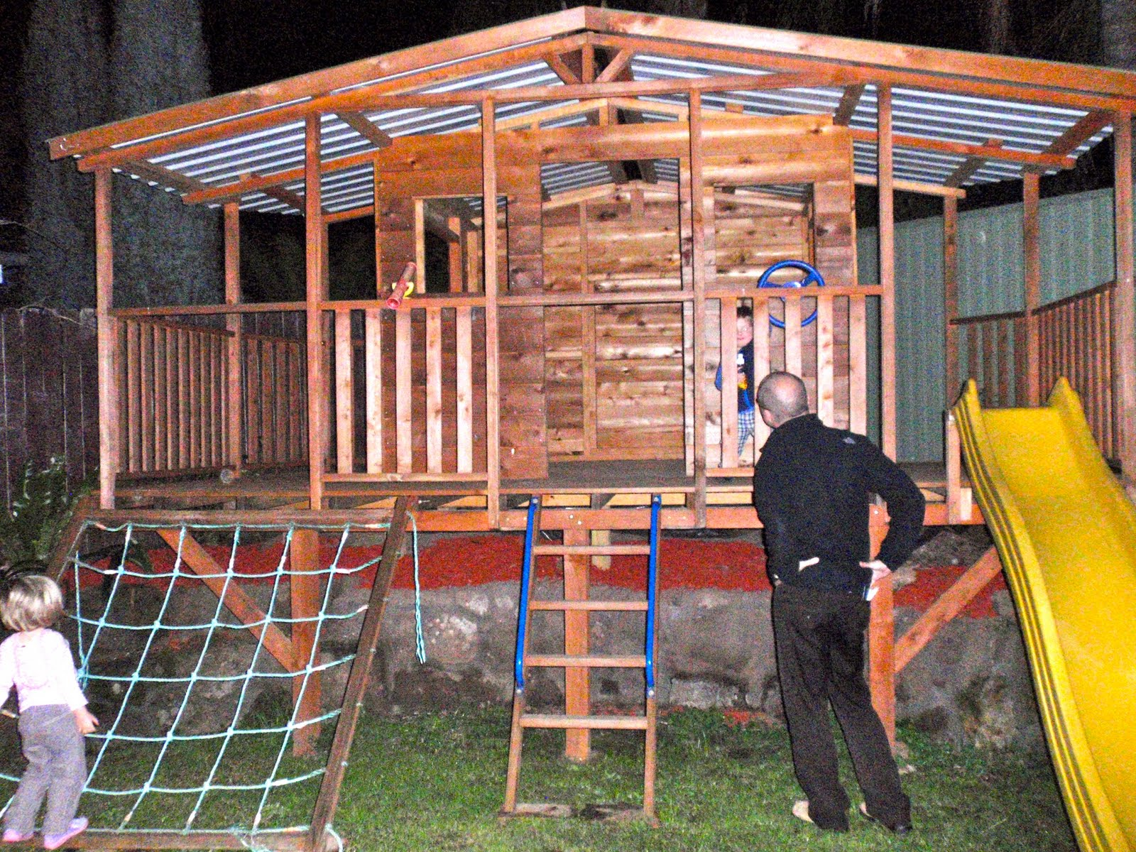 DIY cubby house plans | Improve My Home - Home Improvement, Garden