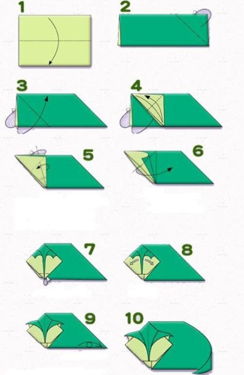 Origami Cat Hiroaki Takai Easy Make Origami Instructions For Kids