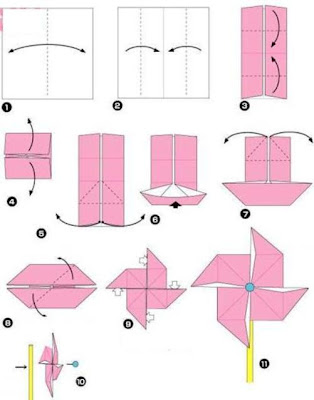 Origami Butterfly 3d Instructions