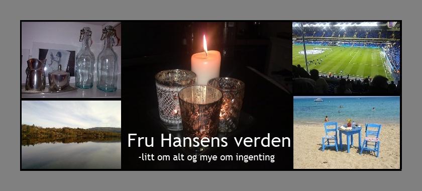 Fru Hansens verden