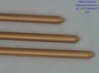 Varilla Copperweld de 5/8  x  1.5m.
