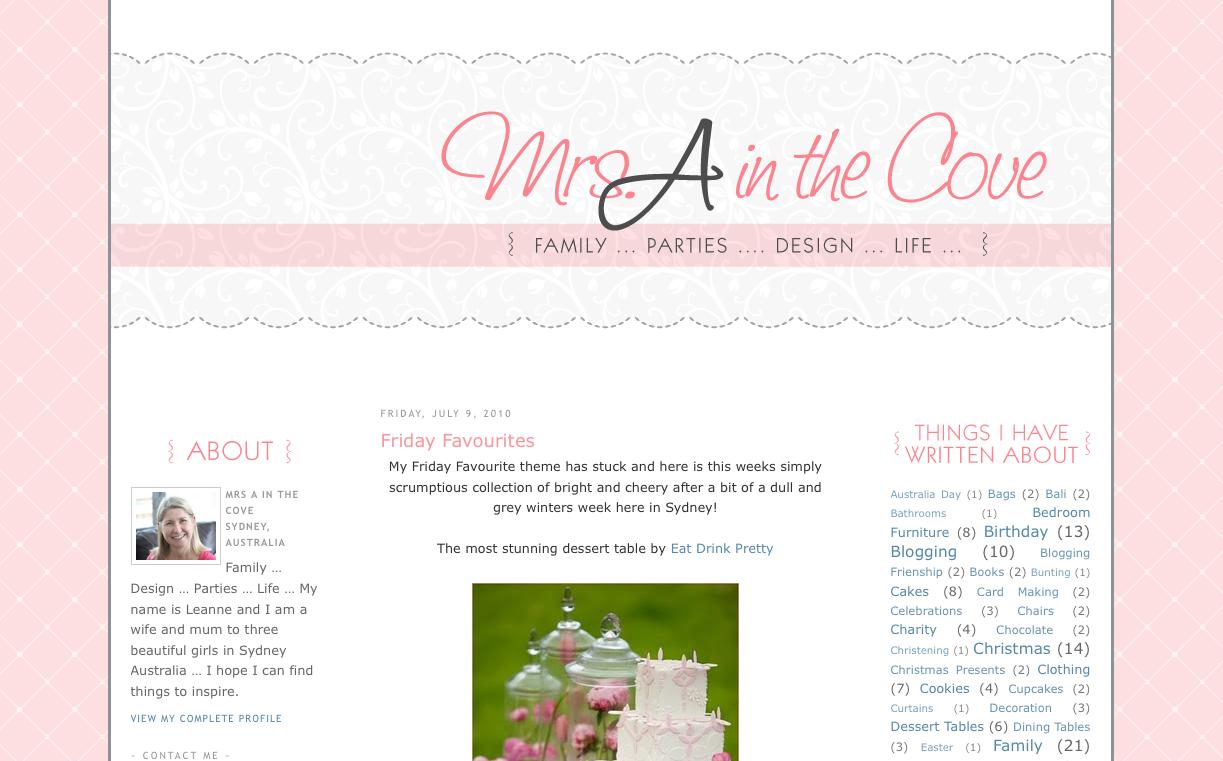 my blog makeover