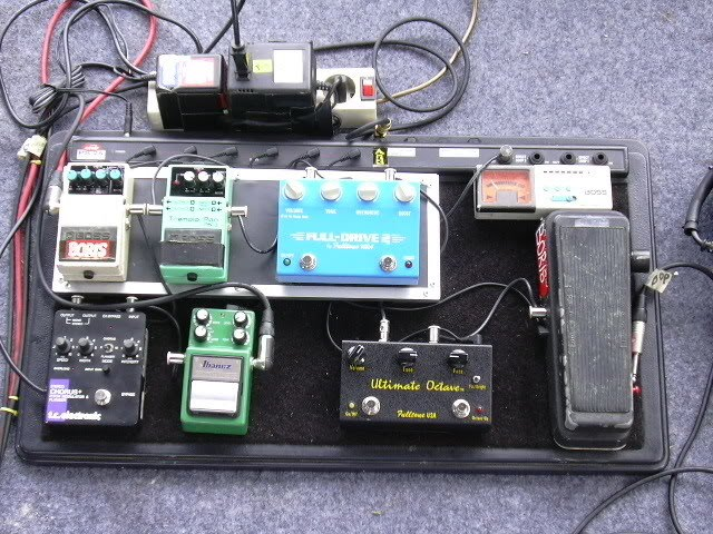 The World Behind My Blog Pedal Board Artis Indonesia