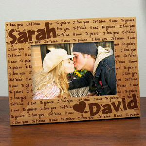 Love Collage Picture Frames on Frames Wooden Picture Frames Also Look Extremely Classy With The Names