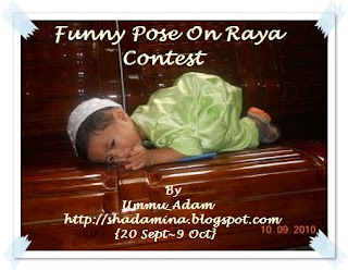 ~Funny Pose On Raya Contest~