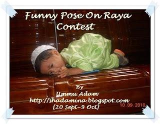 ~Funny Pose On Raya Contest~