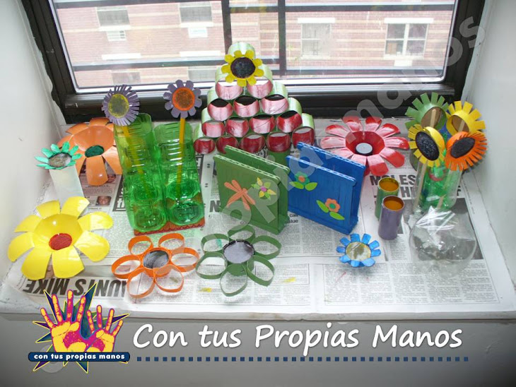 Manualidades con Reciclaje