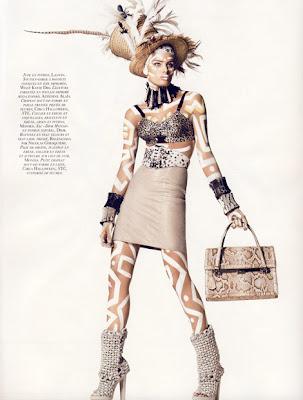 Isabeli Fontana Vogue Paris