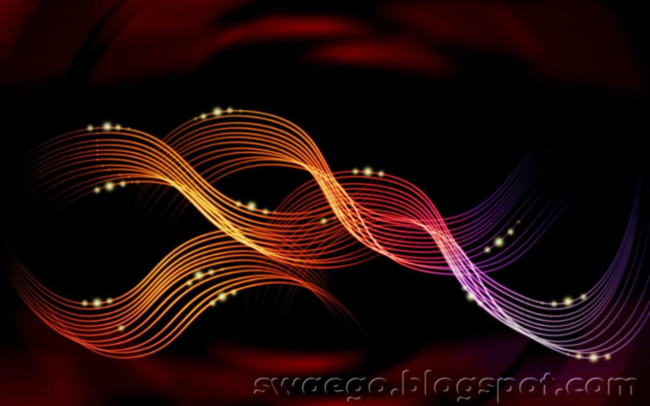 Абстрактные линии в фотошоп